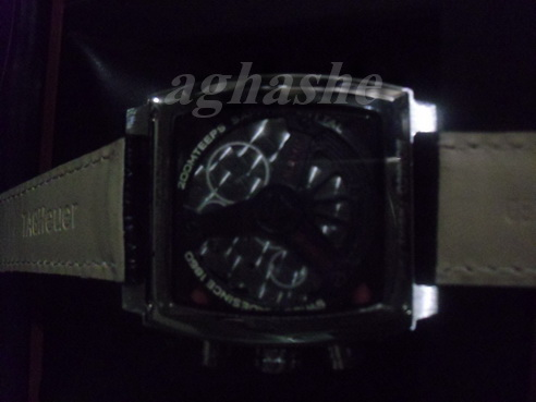 Tag Heuer Monaco leather  Back Side