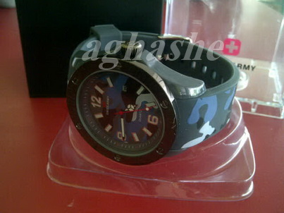 Swiss Army Sport Military Grazy Black