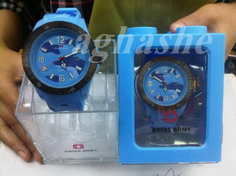 Swiss Sport Military Bubble Blue
